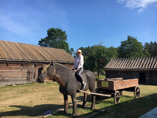Fem saker jag lärde mig på Åland - oivalluksia kielikurssilta!