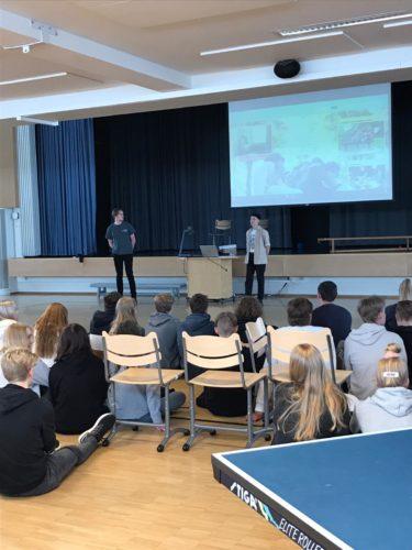 Suomen Lukiolaisten Liiton vierailu