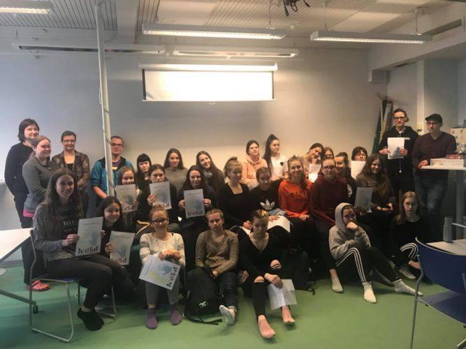 Liettua-projektin jälkitunnelmia opiskelijoiden suusta - Haastattelussa Miia Kinnunen ja Janna Kakriainen