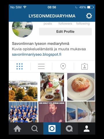 Mediaryhmällä on Instagram-tili!