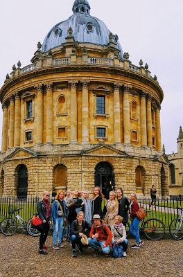 Oxfordissa toukokuussa